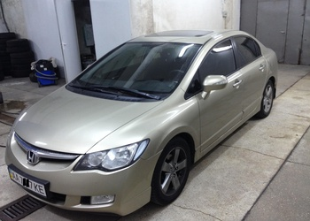 Honda Civic 4D 2005 1.8 AT LS