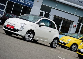 Fiat 500 1.2 AT Lounge