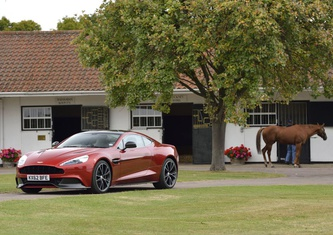 Aston Martin Vanquish Coupe S Touchtronic