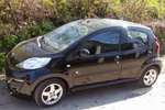 Peugeot 107 5dr 1.0 AT Black & Silver