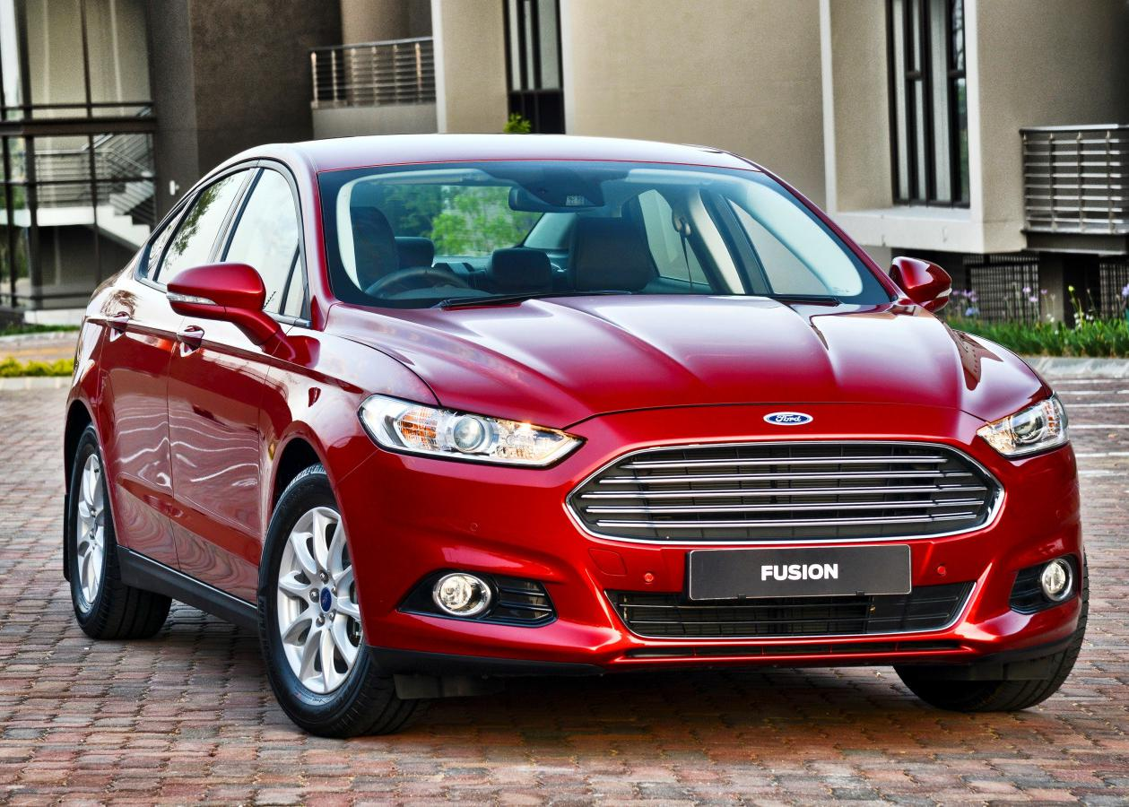 Ford Fusion 1.6 MT Trend +