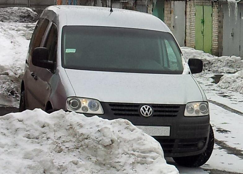 Volkswagen Caddy Combi (2K, 2003-2010) 1.9D MT